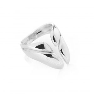 Ring pebbles, silver, contemporary jewellery